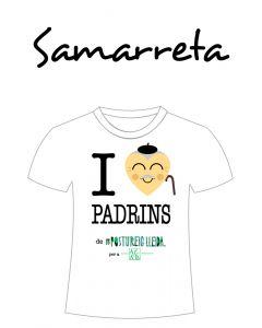 POSTUSAMARRETA I LOVE PADRINS (Cor padrí)