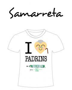 POSTUSAMARRETA I LOVE PADRINS (Cor padrina)