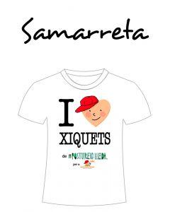 POSTUSAMARRETA I LOVE XIQUETS