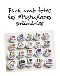 Totes les #PostuXapes (23 models)
