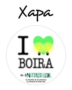 POSTUXAPA I LOVE BOIRA