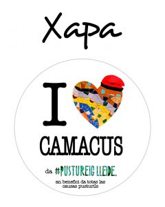 POSTUXAPA I LOVE CAMACUS