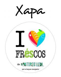 POSTUXAPA I LOVE FRESCOS