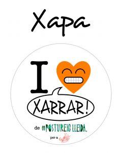 POSTUXAPA I LOVE XARRAR