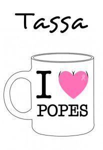 POSTUTASSA I LOVE POPES
