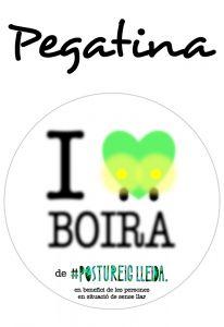 POSTUPEGATINA I LOVE BOIRA