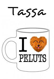 POSTUTASSA I LOVE PELUTS
