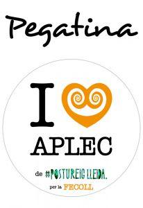 POSTUPEGATINA I LOVE APLEC