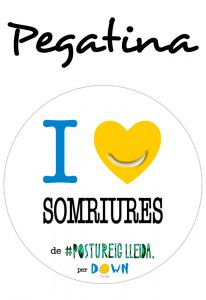 POSTUPEGATINA I LOVE SOMRIURES