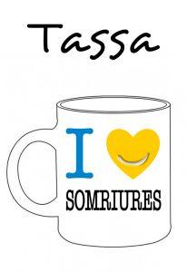 POSTUTASSA I LOVE SOMRIURES