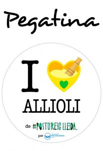 POSTUPEGATINA I LOVE ALLIOLI