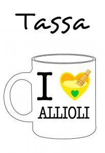 POSTUTASSA I LOVE ALLIOLI