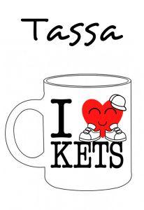POSTUTASSA I LOVE KETS