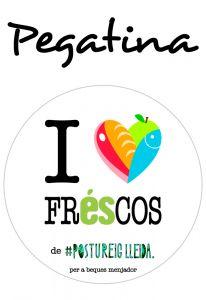 POSTUPEGATINA I LOVE FRESCOS