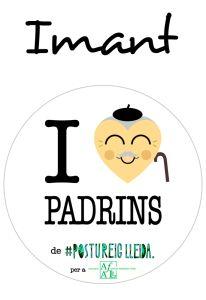 POSTUIMANT I LOVE PADRINS (Cor Padrí)