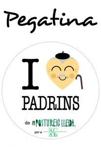 POSTUPEGATINA I LOVE PADRINS (Cor Padrí)