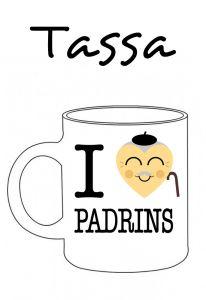 POSTUTASSA I LOVE PADRINS (COR PADRÍ)