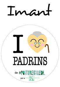 POSTUIMANT I LOVE PADRINS (Cor Padrina)