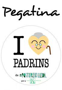 POSTUPEGATINA I LOVE PADRINS (Cor Padrina)