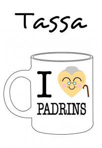 POSTUTASSA I LOVE PADRINS (COR PADRINA)