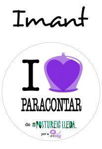POSTUIMANT I LOVE PARACONTAR