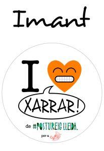 POSTUIMANT I LOVE XARRAR