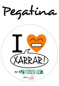 POSTUPEGATINA I LOVE XARRAR