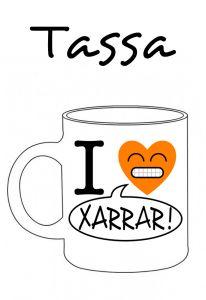 POSTUTASSA I LOVE XARRAR