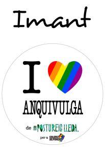 POSTUIMANT I LOVE ANQUIVULGA