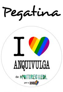 POSTUPEGATINA I LOVE ANQUIVULGA