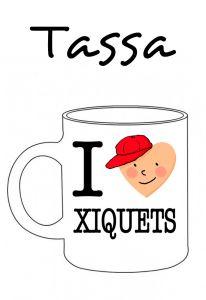 POSTUTASSA I LOVE XIQUETS
