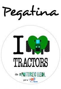 POSTUPEGATINA I LOVE TRACTORS