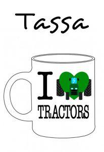 POSTUTASSA I LOVE TRACTORS