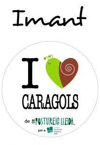 POSTUIMANT I LOVE CARAGOLS