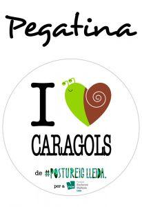 POSTUPEGATINA I LOVE CARAGOLS