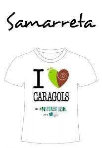 POSTUSAMARRETA I LOVE CARAGOLS
