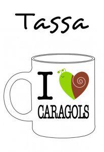 POSTUTASSA I LOVE CARAGOLS