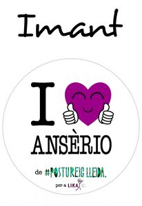 POSTUIMANT I LOVE ANSÈRIO