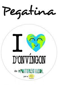 POSTUPEGATINA I LOVE D'ONVÍNGON