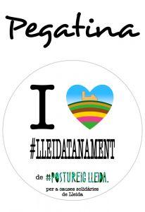 POSTUPEGATINA I LOVE LLEIDATANAMENT