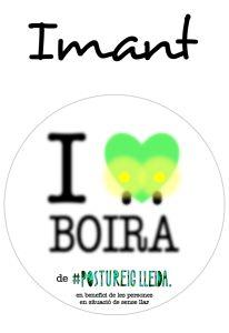 POSTUIMANT I LOVE BOIRA