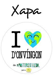 POSTUXAPA I LOVE D'ONVÍNGON