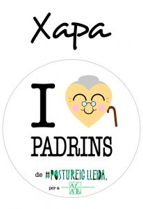 POSTUXAPA I LOVE PADRINS (COR PADRINA)