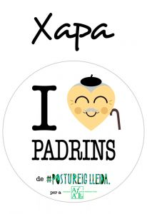 POSTUXAPA I LOVE PADRINS (COR PADRÍ)