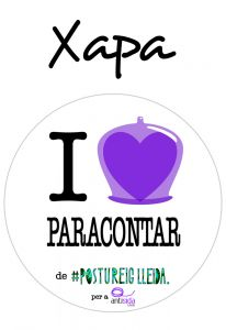 POSTUXAPA I LOVE PARACONTAR