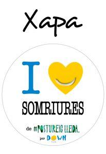POSTUXAPA I LOVE SOMRIURES