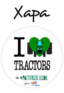 POSTUXAPA I LOVE TRACTORS